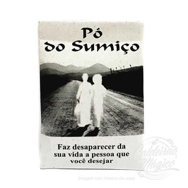 PO DE RITUAL DO SUMIÇO