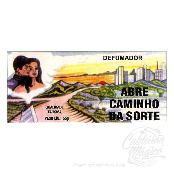 DEFUMADOR ABRE CAMINHO DA SORTE