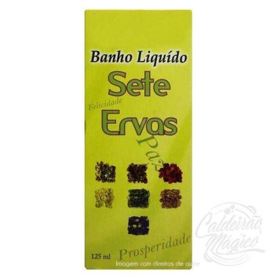BANHO SETE ERVAS