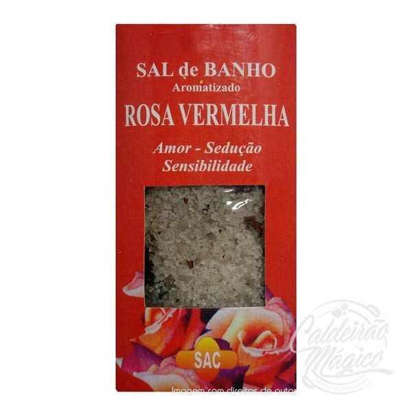 SAL DE BANHO ROSA VERMELHA