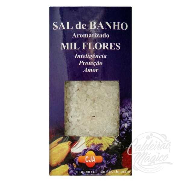 SAL DE BANHO MIL FLORES