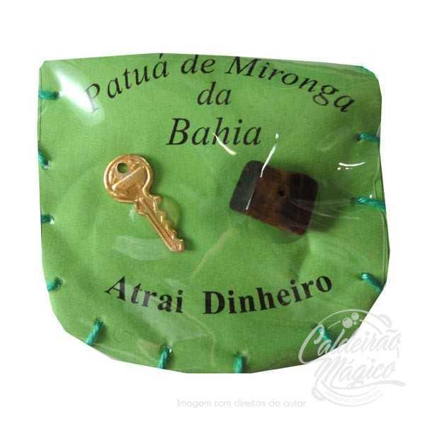 PATUÁ ATRAI DINHEIRO