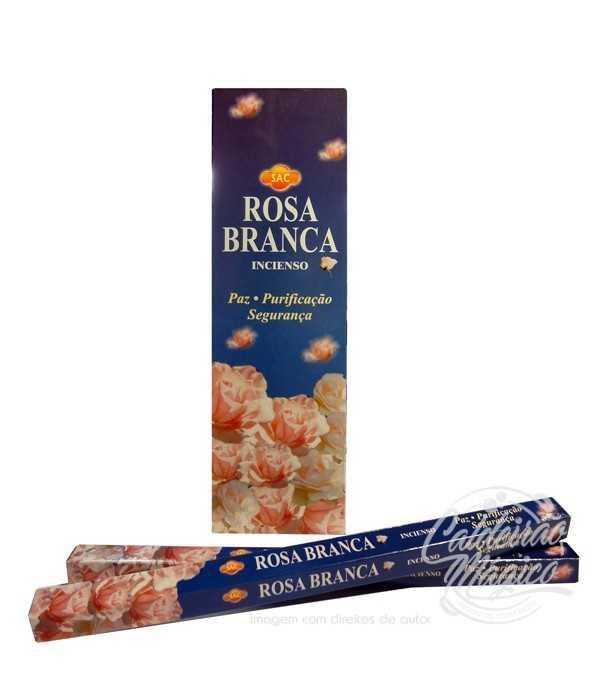 INCENSO ROSA BRANCA