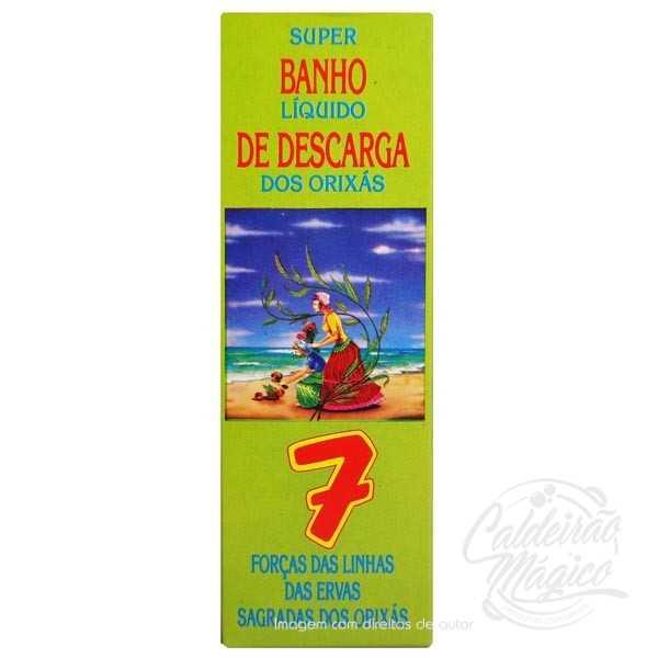 BANHO DE DESCARGA DOS ORIXÁS