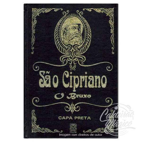 SÃO CIPRIANO CAPA PRETA