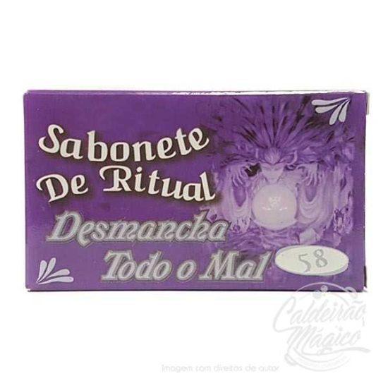 SABONETE DESMANCHA TODO O MAL