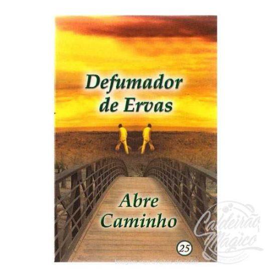 DEFUMADOR DE ERVAS ABRE CAMINHOS