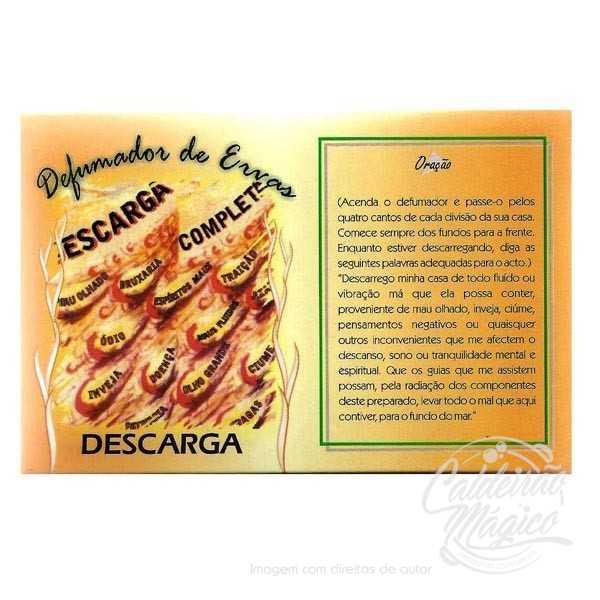 DEFUMADOR DE ERVAS DESCARGA