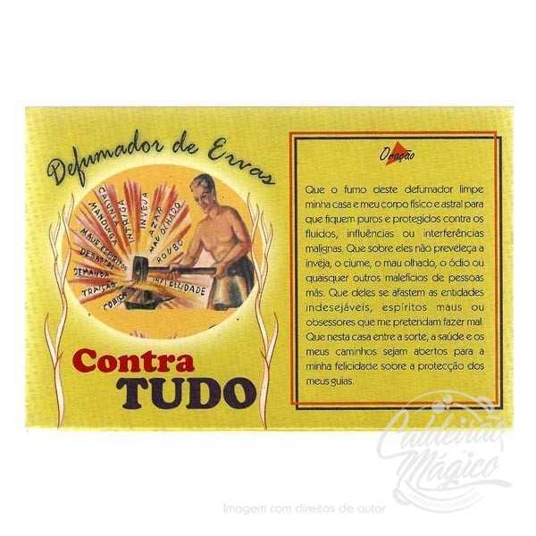 DEFUMADOR DE ERVAS CONTRA TUDO