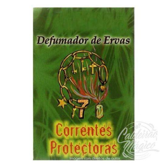 DEFUMADOR DE ERVAS 7 CORRENTES PROTECTORAS