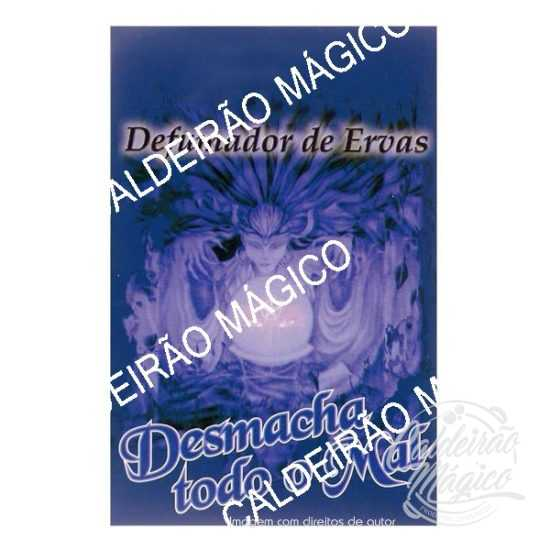 DEFUMADOR DE ERVAS DESMANCHA TODO O MAL