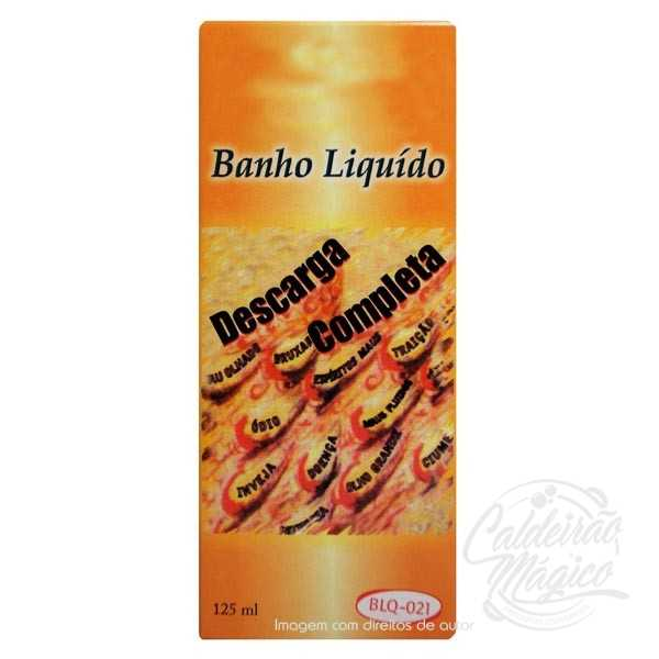 BANHO DE DESCARGA COMPLETA