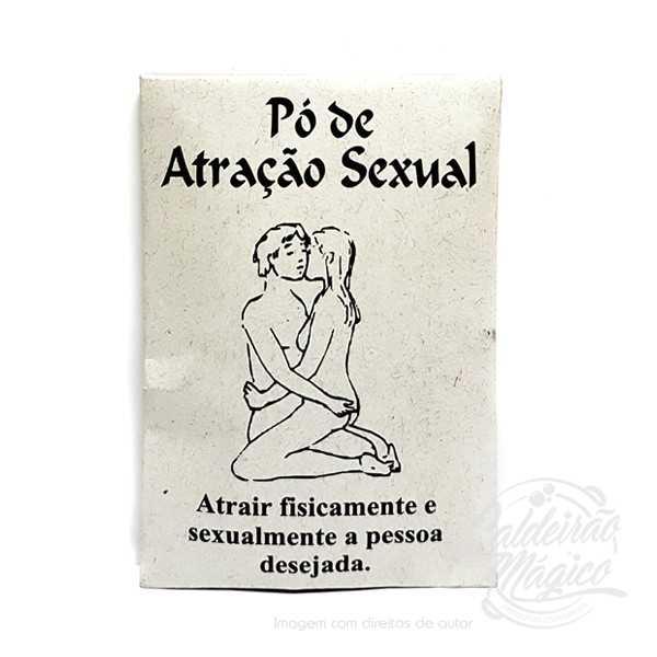PÓ RITUAL ATRACÇÃO SEXUAL