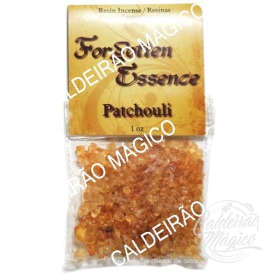 INCENSO RESINA PATCHOULI