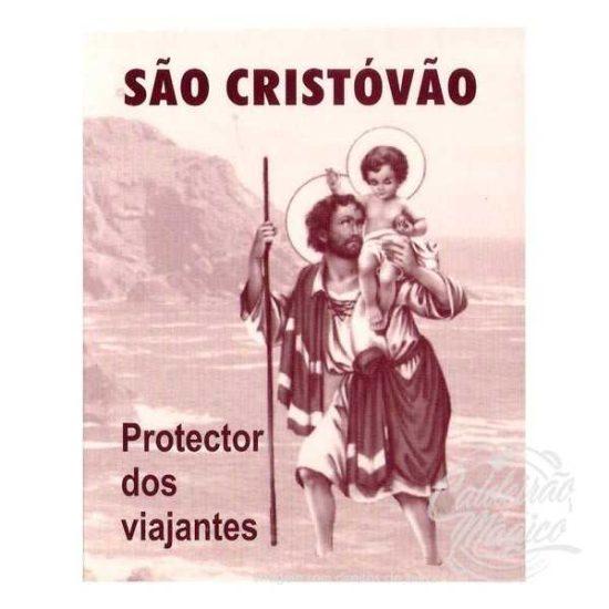 SÃO CRISTÓVÃO PROTECTOR DOS VIAJANTES
