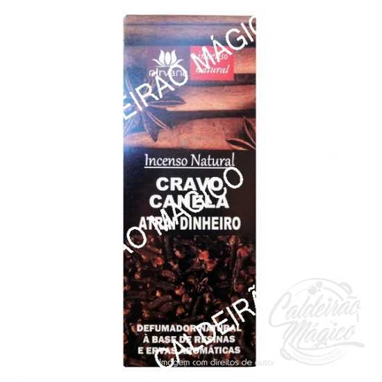 INCENSO CRAVO E CANELA