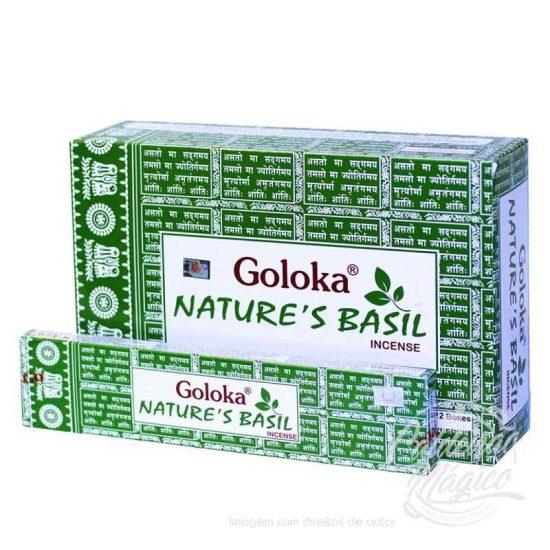 INCENSO GOLOKA NATURE´S BASILICO