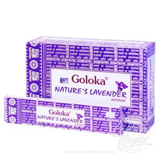 INCENSO GOLOKA NATURE´S LAVANDA