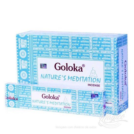 INCENSO GOLOKA NATURE´S MEDITAÇÃO