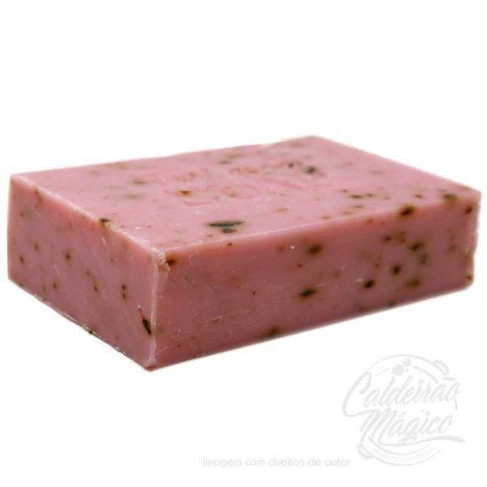 SABONETE NATURAL ROSAS DO AMOR