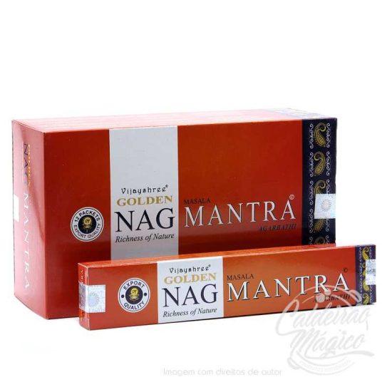 INCENSO GOLDEN NAG MANTRA