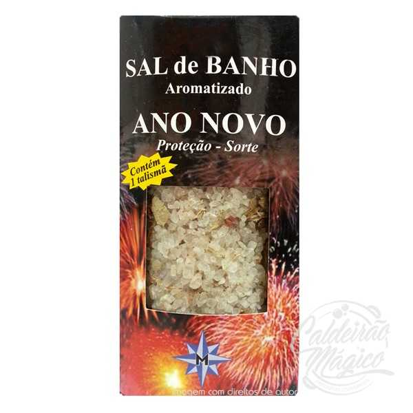 SAL DE BANHO ANO NOVO