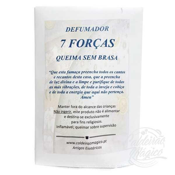 7 FORÇAS, QUEIMA SEM BRASA