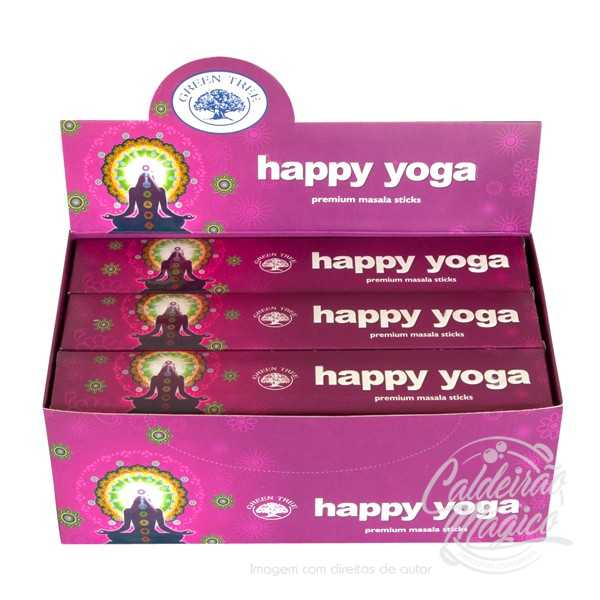 INCENSO HAPPY YOGA