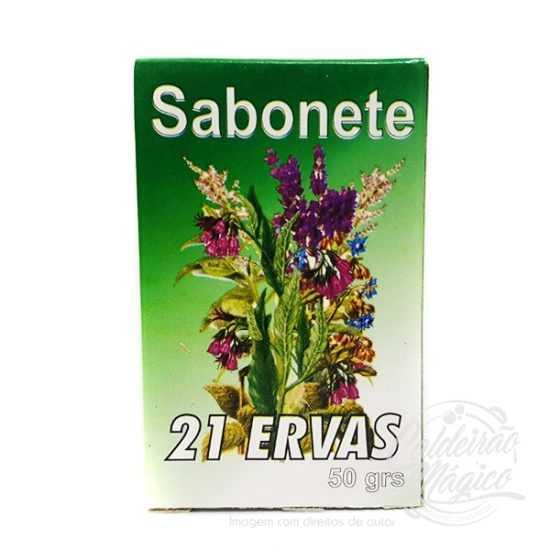 SABONETE 21 ERVAS