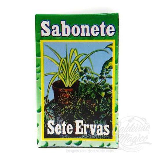 SABONETE SETE ERVAS