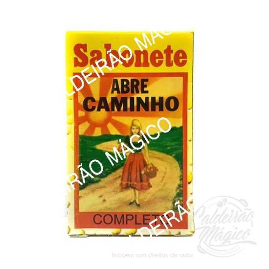 SABONETE ABRE CAMINHO