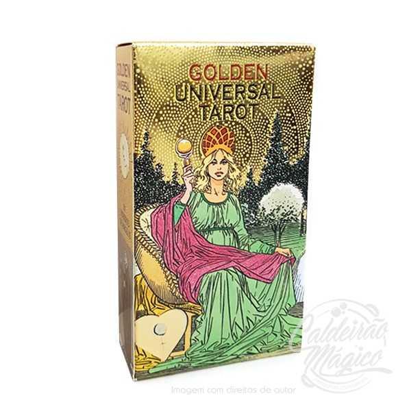 TAROT UNIVERSAL GOLDEN