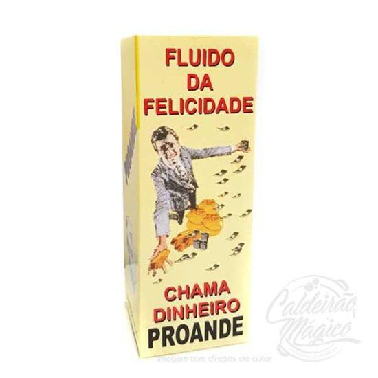 FLUÍDO DA FELICIDADE CHAMA DINHEIRO
