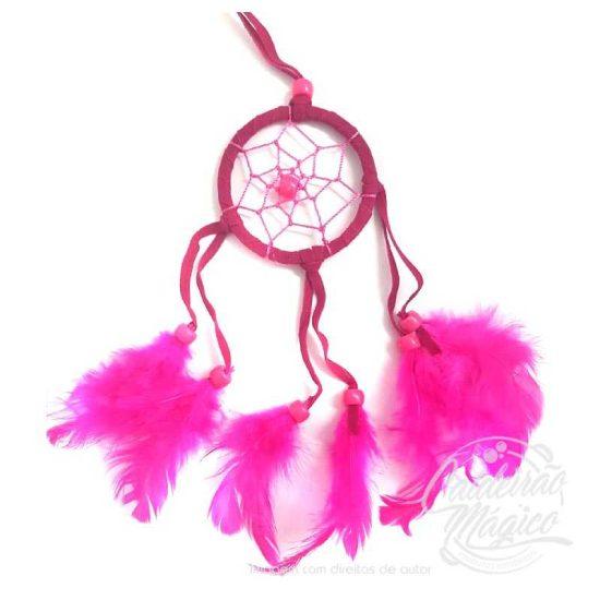 Mini Caça Sonhos Rosa