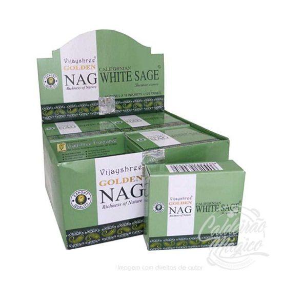 Incenso Vijayshree Golden Nag Californian White Sage